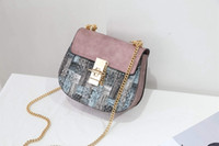 Wholesale- New Lock Women Bag High Quality PU Leather Women ...