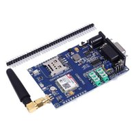 Бесплатная доставка! 1 шт. / лот SIM800C Совет по развитию модуль поддержки GSM GPRS 3.3 / 5 в TTL управления уровнем DC 6-24 В для Arduino 51 MCU