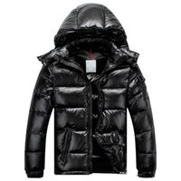 France Men Homme Down Jacket MAYA Goose Down Coats Mens Outdoor Hooded  Collar Warm Feather Homme Winter Coat Outwear Jackets Parka 3c8a16f5bae43