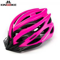 KINGBIKE Ultralight Bicycle Helmet Women Pink Cycling Helmet...