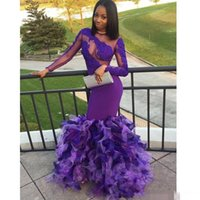 2018 Prom Dresses Long Sleeve Formal Dresses Evening Party W...
