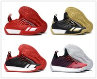 2018 New Arrival Harden 2 Black White Gold Red Yellow Basket...