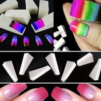 8pcs Nails Soft Spongs Nail Buffer Fake Nails Tools for Mani...