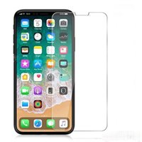 Glass Screen Protector For iPhone Xs Max Xr X 8 7 6 S Plus T...