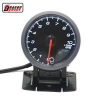 التنين قياس 60 ملليمتر الذاتي اختبار وظيفة السائر المحركات السيارات مقياس سرعة الدوران rpm المقياس