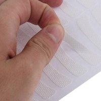 100 pz / pacco Bianco Eye Eye Eyelash Extension Fabrics Pad Adesivi Patch Adesivo Taglio Trucco Strumento di bellezza