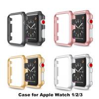 40mm 44mm cristal rígido fino PC cubierta protectora del caso de Shell para Apple iWatch reloj 4 de la serie de Univesal 1 2 3 Caso ultra lujo