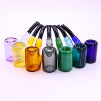 "5. 7"" Glass Sherlock Pipe Fashion Hand Pipes Mix Colors ..."