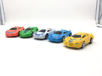 Car model 5 style plastic Toys car 10 CM return power car su...