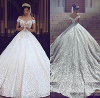 2019 New Vintage Lace Wedding Dresses Sexy Off the Shoulder ...