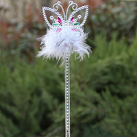 2018 Fairy Princess Magic Wand Sticks Butterfly Crown Heart ...