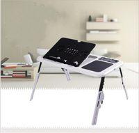 Главная ноутбук стол с USB вентилятор рассеивание тепла регулируемая многофункциональный мебель складной лоток стол высокая твердость хорошее качество 27wy ii