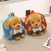 Kids Shoulders Bags Bear Plush Backpack Toy Bear Children Ba...