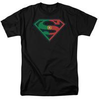 cf1a39e5e0 Licenciado Superman Portugal Bandeira Portuguesa Escudo Logotipo Camiseta  Adulto S-3XL Engraçado frete grátis Unisex