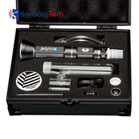 Batteria 18650 per vaporizzatore a cera portatile Kanboro Ecube vaporizzatore a cera secca per kit di attrezzi ecig dab rig