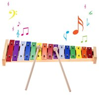 Colorful Glockenspiel Xylophone Wooden & Aluminum Percussion...