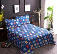 Fashion Star Estate aria condizionata tradizionale vecchio letto di cotone grossolani Lenzuola copriletto set 1,5 m 1,8 m Covers