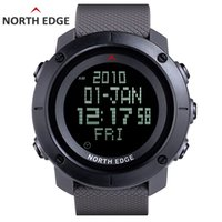 NORTH EDGE Men' s sports Digital watch Hours for Running...