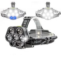 USB 20000 Lumens Ultra Bright 7 LED Headlamp Rechargeable 5*...