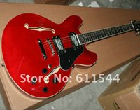 Wholesale New Arrival Jazz Guitar 335 semi- hollow electric g...