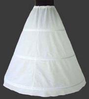 الكلاسيكية ثوب نسائي الزفاف قماش قطني طبقة واحدة 3 الأطواق كامل طول فستان الزفاف ثوب نسائي ساري في الأوراق المالية
