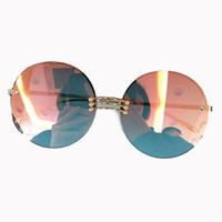 76f8b9493a2140 Lunettes de soleil sans monture de haute qualité pour femmes Marque  Designer de haute qualité pour