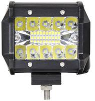 10 STÜCKE 70 Watt Triple Row LED Lichtleiste 4 zoll Spot Beam LED Fahrlichter Off Road Beleuchtung LED Arbeitsscheinwerfer für Lkw