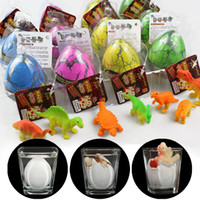 12 pcs Magic Hatching Growing Dinosaur Eggs Water Grow Dino ...