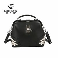 99d6165c8904 New Arrival. LIRENNIAO Fashion Shell PU Shoulder Bag Solid Small Crossbody Bags  For Women ...