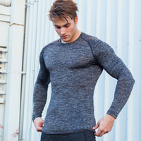 Muscle good brother outdoor fitness sweater solid color men&...