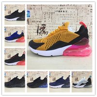 Wholesale New 270 27C Black white men running shoes training...