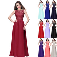 Spring Summer Lace Chiffon Bridesmaid Dresses Real Pictures ...