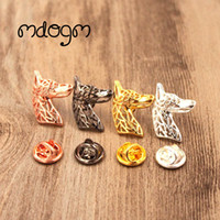 Mdogm 2018 Doberman Brooches And Pins Wholesale Jewelry Suit...