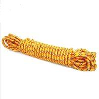 11 mm çaplı ip tırmanma yaşam çizgisi kaçış açık şemsiye halat güvenlik yangın ipi 6725 de