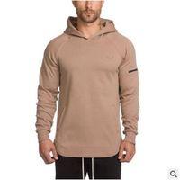 YENİ Casual Erkekler Kapüşonlular camisetas masculina hombre ceket Vücut Geliştirme ve fitness eşofmanı Tişörtü kas spor mens