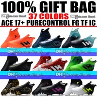 New 2018 Laceless High Ankle Football Boots ACE 17 Purecontr...