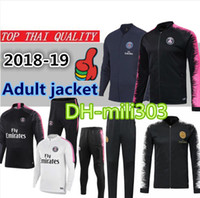 Melhor qualidade 18 19 Paris Saint Germain jaqueta de futebol terno de  treinamento 18 19 MBAPPE 71b157a6ba576