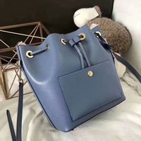 Classic MKOES Luxury Bucket Drawstring Bag Handbag Tote Bran...