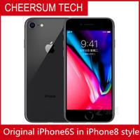 8 스타일의 Original iPhone 6s 4.7 5.5 인치 쇼 64GB 256GB Box iPhone6s iPhone 8 하우징에서 개조