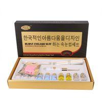 كوريا الجمال رمش بيرم كيت جلدة رفع أهداب تجعيد علاج ما يصل إلى perment مجموعة أدوات تجميل المكياج