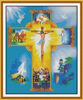 Святой Иисус христианство home decor картины ,ручной вышивки крестом вышивка рукоделие наборы счетный печать на холсте DMC 14CT /11CT