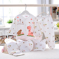 5pcs Baby Girl Clothes Newborn Boys Girls Clothing Gift Set ...