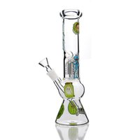 Smoking Man Cartoon Gourd Pot Bong Straight Glass Bongs Dab ...