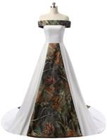 2018 New Sexy Long Camo Свадебные платья с Брещинкой Стримовые Кружева Плюс Размер Свадебные платья Vestido de Novia Ba01