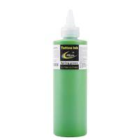 1 زجاجة أحدث حبر الوشم HAO 250ML / 12oz / 330g (اللون الأخضر) مجموعات الصباغ للفن الوشم الجسم