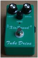 XinSound ТС 9 Mod пробки Sreamer гитарный эффект Овердрайв педали гораздо более тон