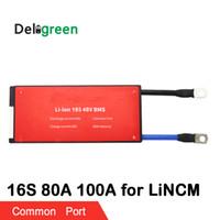 16S 80A 100A 48V PCM / PCB / BMS gemeinsamer Anschluss für LiNCM-Akku 18650 Lithion-Ionen-Akku Schutzplatte Schutzplatte