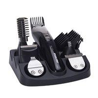 Новейшие Chjpro 7 в 1 Руководство для бумаги для лакомства для волос для волос Checkper Человек Уход за груминг Кит для волос Триммер для волос Бритва Нос Триммер бороды