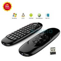 C120 Mini Wireless Keyboard Portable Fly Air Mouse 3 Axis Se...