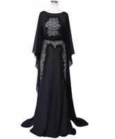 Real Beaded Lace Elie Saab Evening Dresses Long Black Formal...
